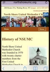 NSUMC mobile website goes live
